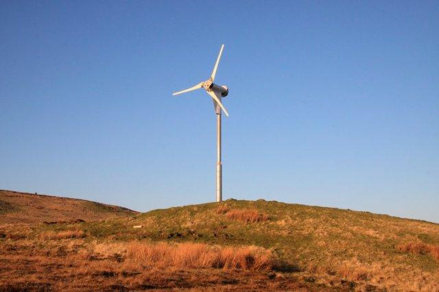 Wind turbine. © Caroline Stanton/SNH