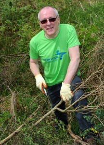 Peter Cunningham, Seven Lochs volunteer.