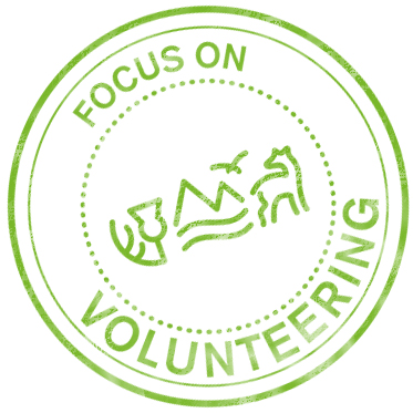 Focus on volunteering stamp
