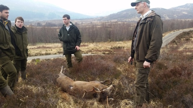SNH deer management best practice day at Creag Meagaidh National Nature Reserve in March 2017. © Jenna Lane/SNH