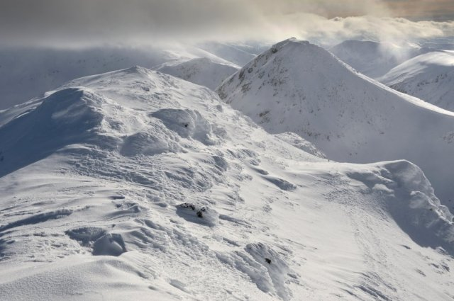 Ben Lawers and An Stuc, in winter. ©Lorne Gill/SNH