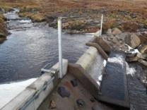 Small scale hydro scheme, Lochrosque Estate.