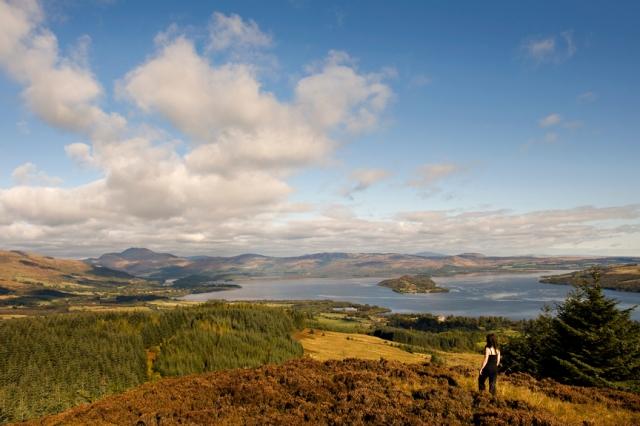 John Muir Celebrations -views of Loch Lomond © Becky Duncan