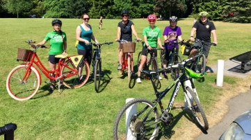 With our Active Travel Hub bikes
