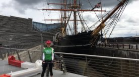 #CycleForNature Leg 4 finishes in Dundee