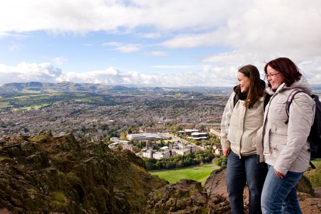 Edinburgh - SNH SGT JMT 200 (c) Becky Duncan, Open Aye