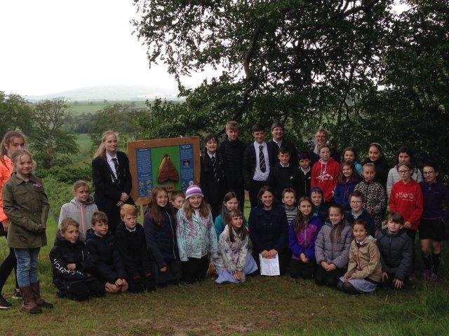 Group Pic - Whitmuir Farm trail launch