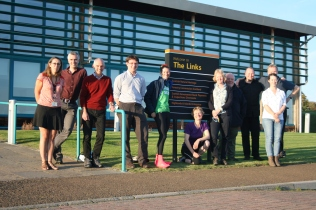 The Golspie team