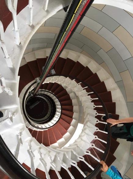 Isle of May lighthouse interior - 5