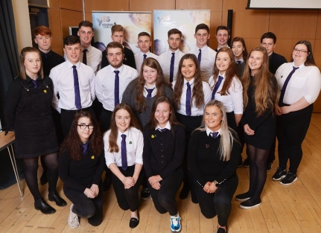 Culloden Inspire, the Young Enterprise team from Culloden Academy