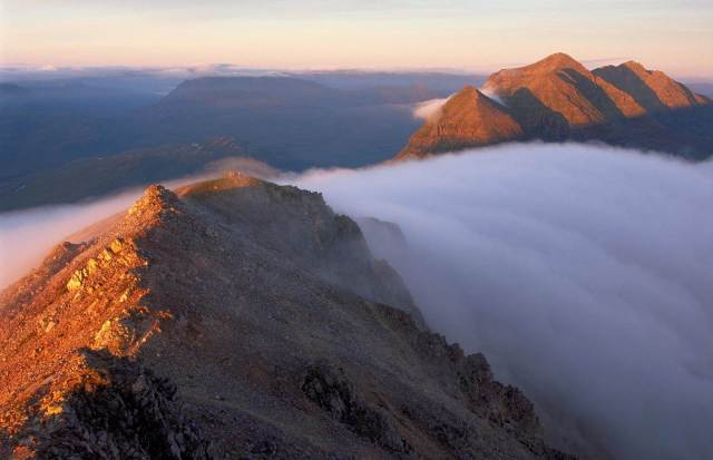 The Beinn Eighe ridge and temperature inversion, Beinn Eighe NNR ©Lorne Gill SNH