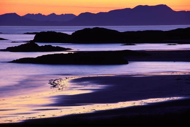 Rum and Skye from Gallanach on the Isle of Coll ©Lorne Gill SNH