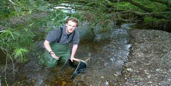 SNH's Freshwater and Wetland Group supported research by Dr Alex Seeney