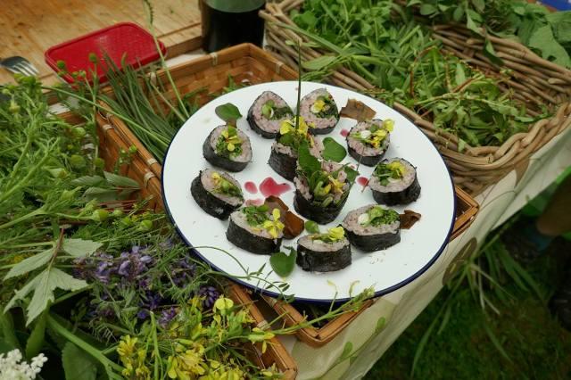Wild sushi