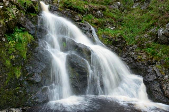 A waterfall at Coire Fee National Nature Reserve ©Lorne GillSNH
