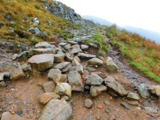 Ben Nevis Mountain Path – Before