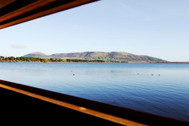 View over Loch Leven NNR from the hide at Burleigh ©Lorne Gill/SNH