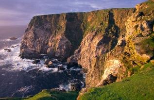 Seacliffs at Hermaness NNR, Shetland Isles.©Lorne Gill